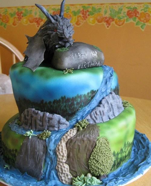 cake,noms,Skyrim,video games