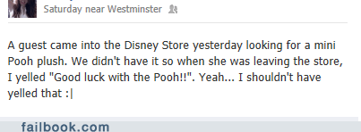 customer service disney store pooh winnie the pooh - 6576352512