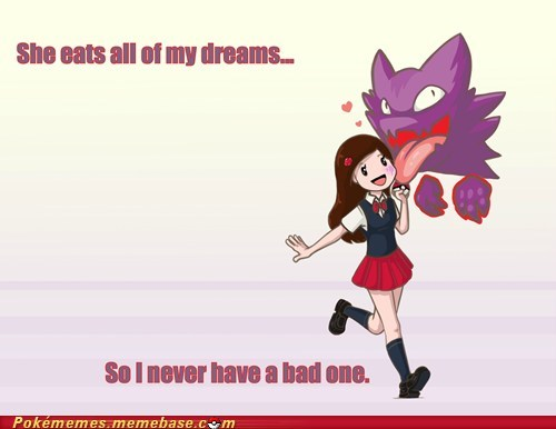 abuse,dreams,haunter,Pokémon