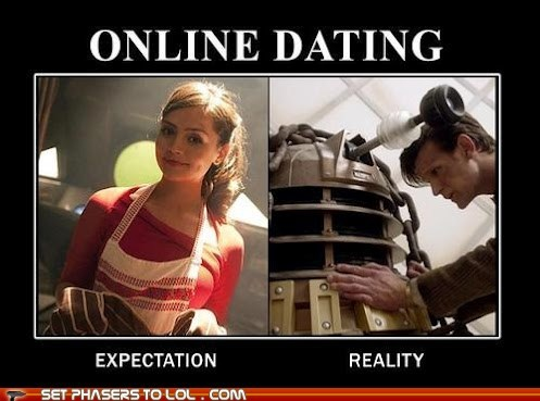 the doctor jenna-louise coleman oswin oswald online dating expectation reality dalek Matt Smith categoryvoting-page