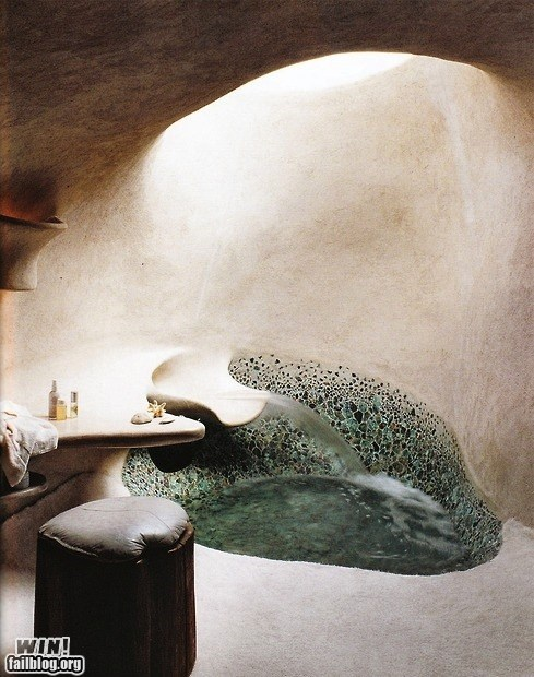 bathtub cave design pretty - 6576514304