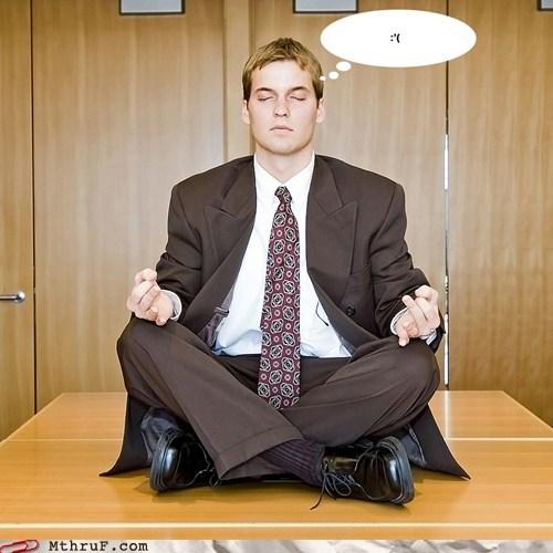 meditation salaryman yoga - 6576595712