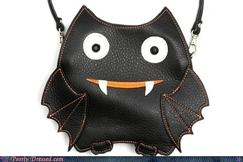 bat purse - 6576636160