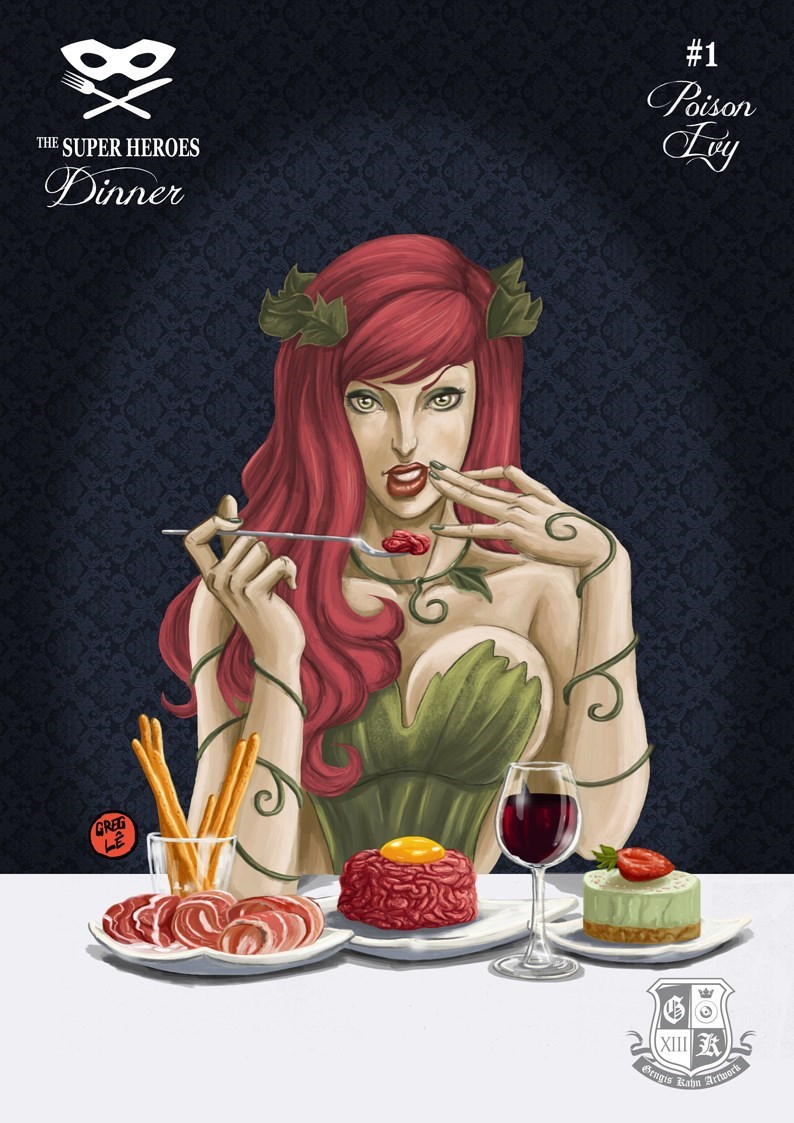 list Fan Art dinner superheroes - 657669