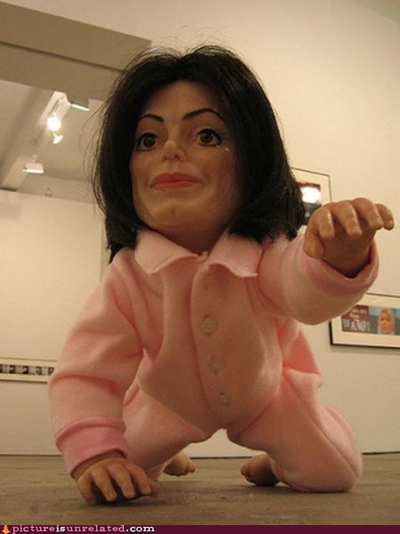 baby creepy michael jackson - 6576699904