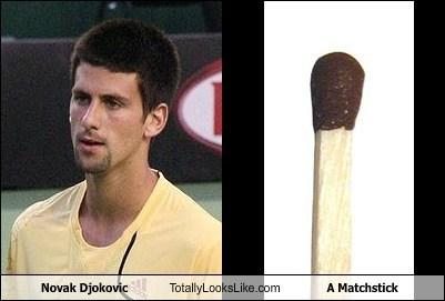 funny matchstick novak djokovic sports TLL