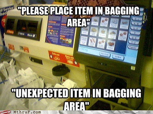 cashier checkout groceries grocery store self checkout self check-out - 6576717056
