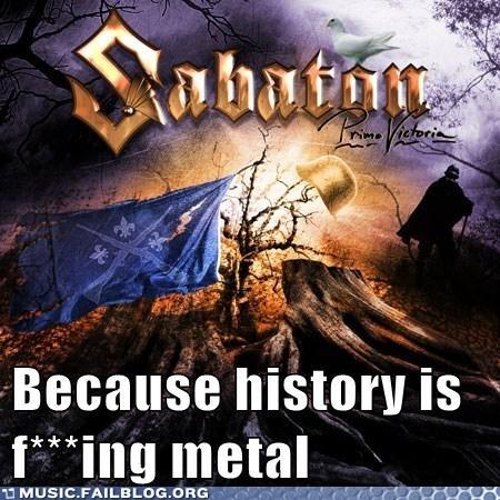 heavy metal history sabaton - 6576849664