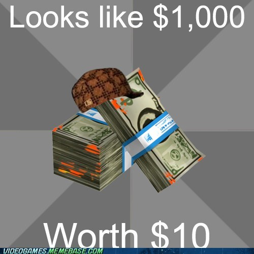 credit meme money scumbag - 6576957952