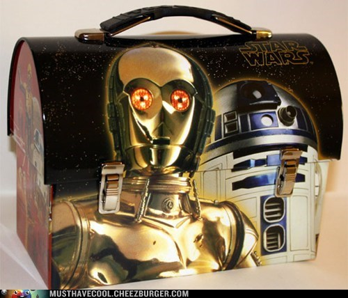 C3PO droids lunch pail lunchbox Movie r2d2 star wars - 6576960256
