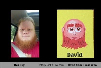 david funny game guess who guy TLL - 6577049600