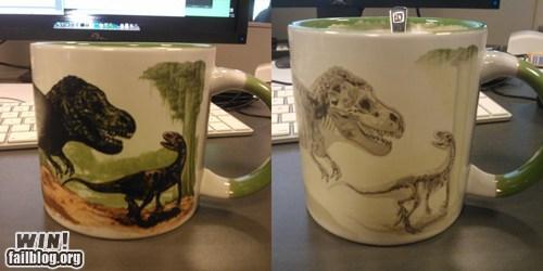 coffee design dinosaurs fossils mug - 6577075200