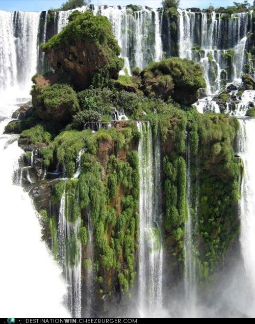brazil,iguazu,landscape,south america,waterfall