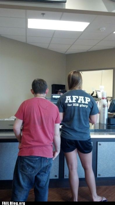 accident acronym fap shirt whoops