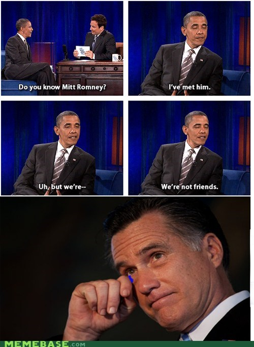 president barack obama Romney politics jimmy kimmel or something