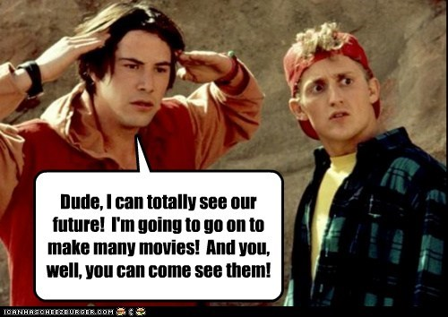 90s,actor,Alex Winter,celeb,funny,keanu reeves,nostalgia