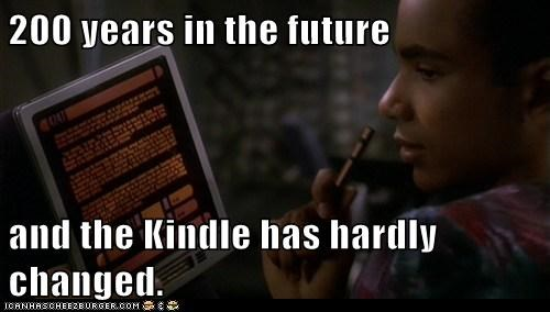 changed,Deep Space Nine,future,hardly,kindle,Star Trek