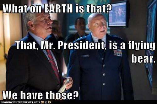bears Don Davis flying George Hammond president Stargate SG-1 what is that - 6577557504