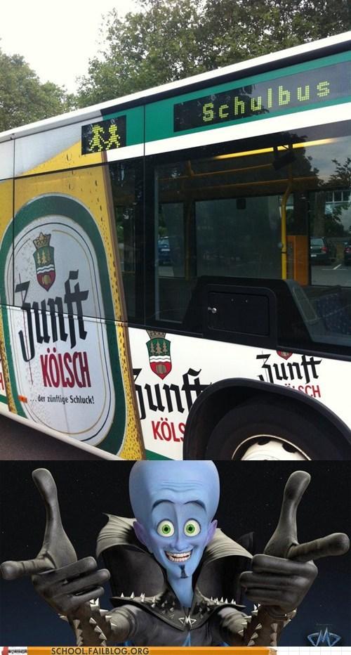 Megamind,school bus,schul,schulbus