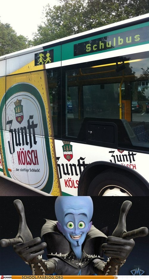 Megamind school bus schul schulbus - 6578075136