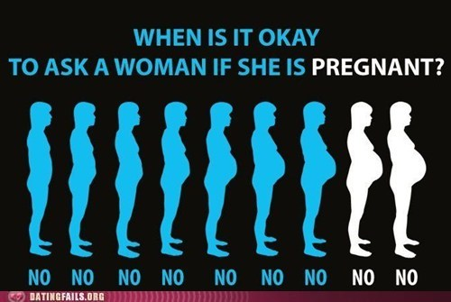 never mention,pregnant,women