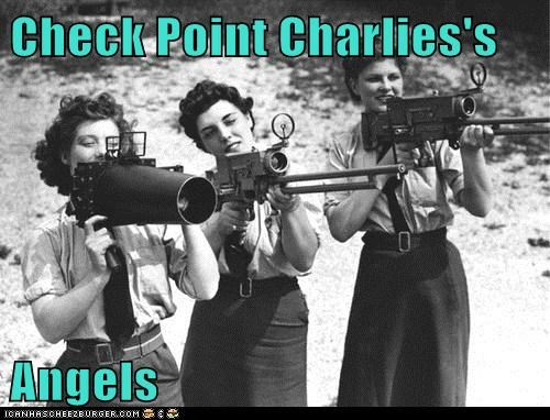 Check Point Charlies's Angels