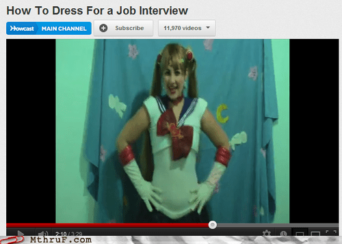 dress for a job interview sailor moon sailor scouts - 6578172672