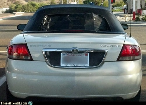 california,convertible,mechanical engineering,rear window,soft top,soft-top,ucsd