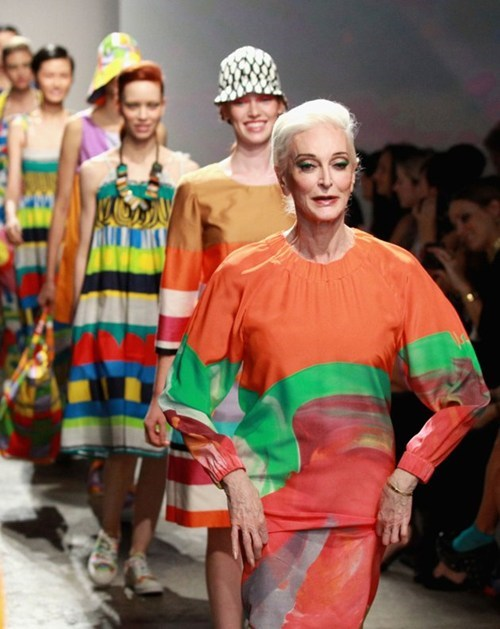 81-year-old runway model,carmen-dellorefice