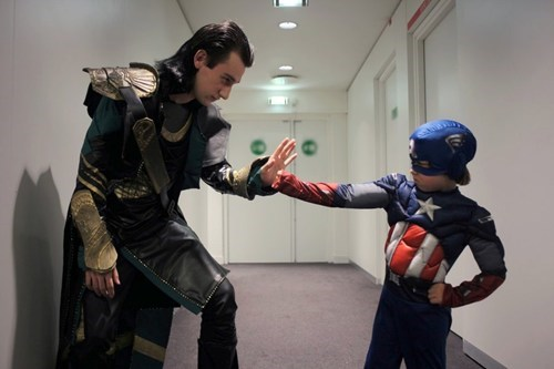 captain america,cosplay,loki,The Avengers
