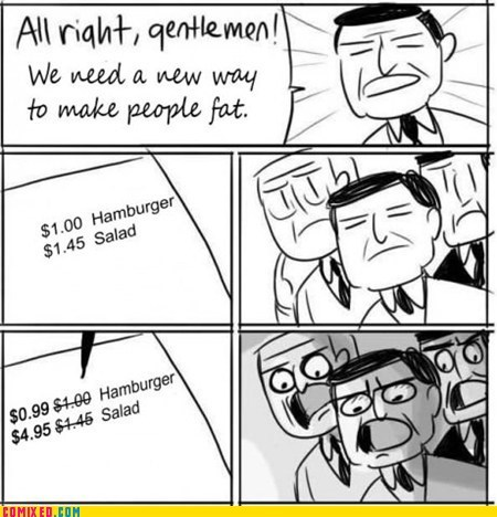 all right gentlemen,fat,menu,money