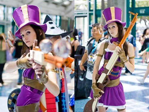 caitlyn cosplay league of legends video games - 6578642432