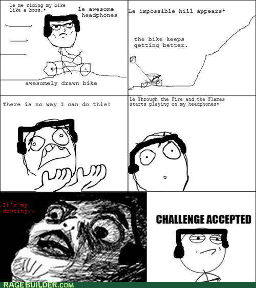 Challenge Accepted exercise Music raisin face - 6578654464