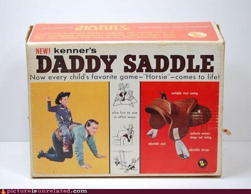 children,daddy,saddle,toy