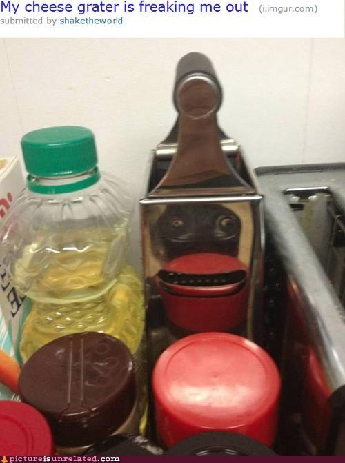 cheese grater creepy food nightmare fuel - 6578774784