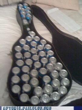 alcohol beer clever guitar case hidden beer - 6578851072