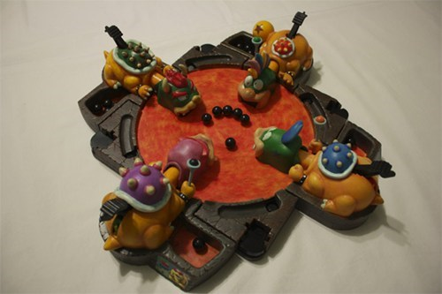 bowser,hungry hungry hippos,mario,Nerd Nightly News