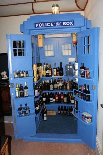 bar beer doctor who liquor Party tardis - 6578895616