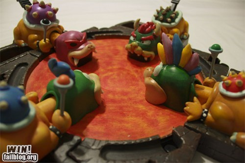 board game,bowser,hungry hungry hippos,koopa kids,nerdgasm,Super Mario bros,video games