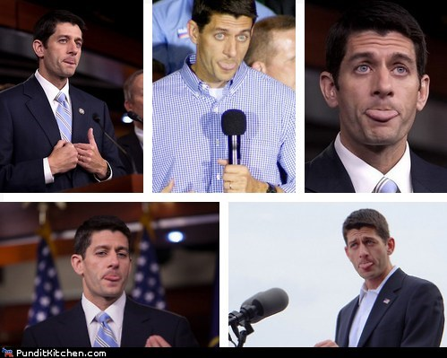 critics,paul ryan,response,stick tongue out