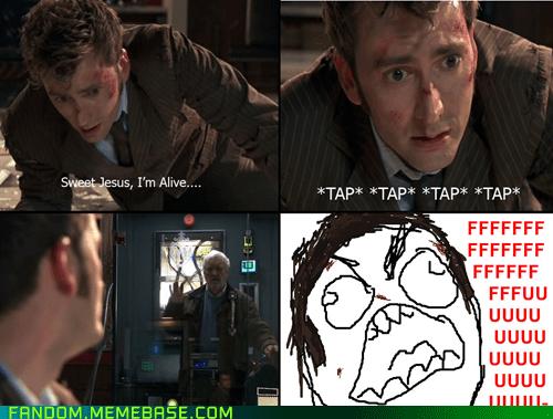 10th doctor,doctor who,Rage Comics