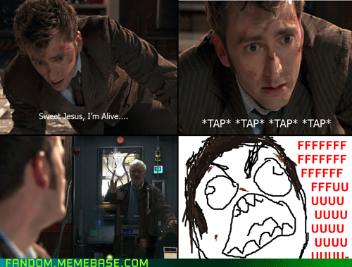 10th doctor doctor who Rage Comics - 6579203328