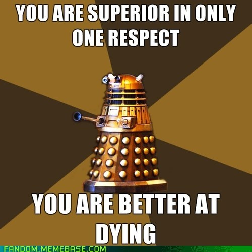 dalek doctor who Memes - 6579213824