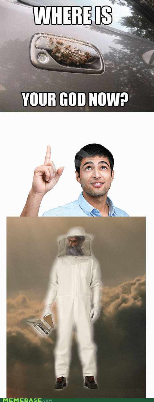 beekeeper,bees tho,god,it only makes sense