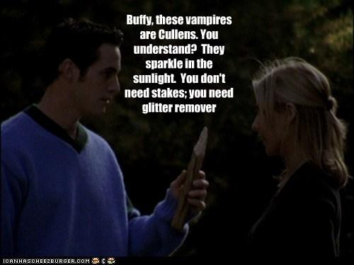Buffy the Vampire Slayer Sparkle sunlight cullens twilight buffy summers Sarah Michelle Gellar nicholas brendon xander harris - 6579342080
