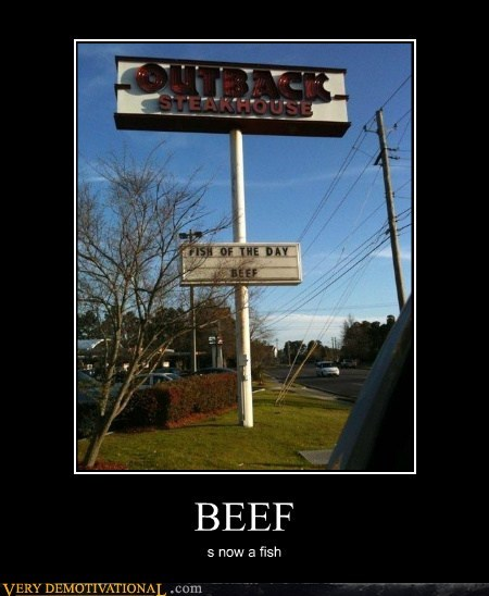 Beef,fish,outback steakhouse