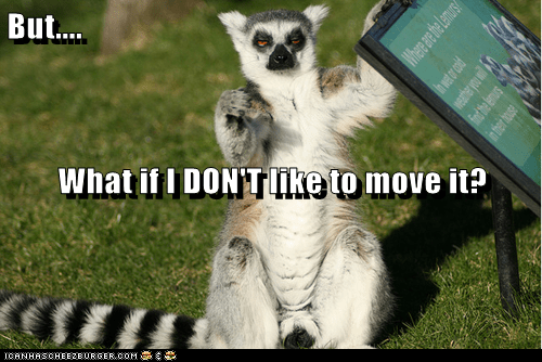 lemur tired dont-like i like to move it madagascar song categoryvoting-page - 6579507968