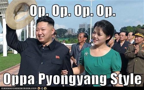 gangnam style kim jong-un North Korea Pyongyang Ri Sol Ju song - 6579671296