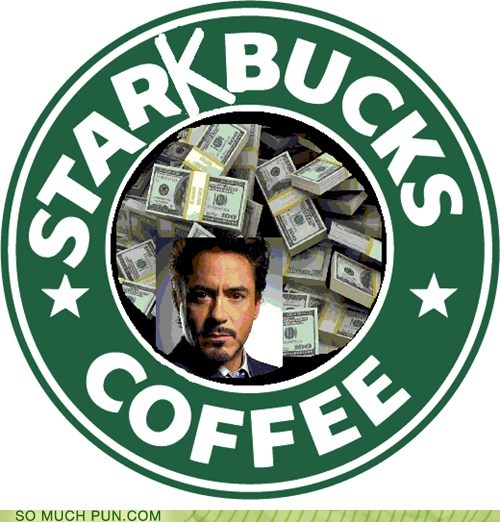 added letter,iron man,marvel,shoop,Starbucks,stark,surname,tony stark