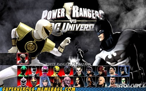 batman fight power rangers video game - 6579918336
